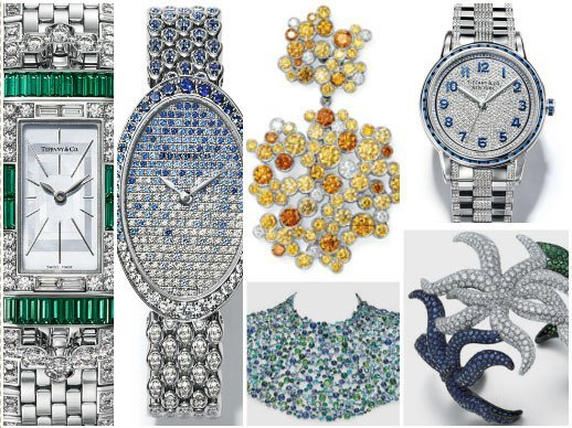 Tiffany & Co. - Watches gracing the Blue Book