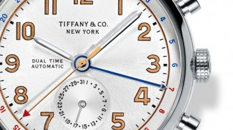 Tiffany CT60® Dual Time Style & Tendance