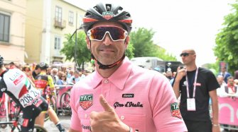 Patrick Dempsey at the Giro