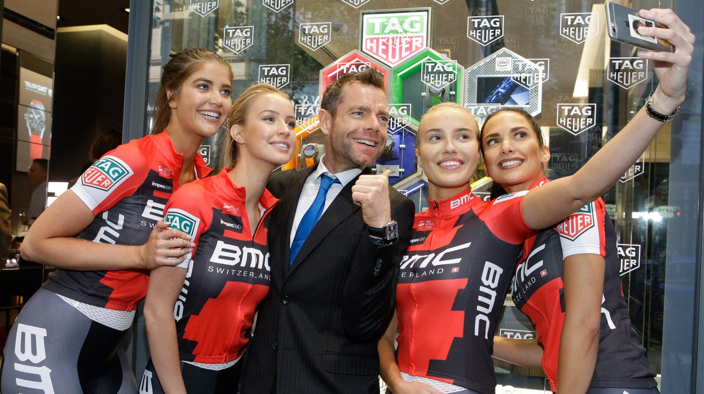 TAG Heuer - New partnership with the Cadel Evans Great Ocean Road Race 2017