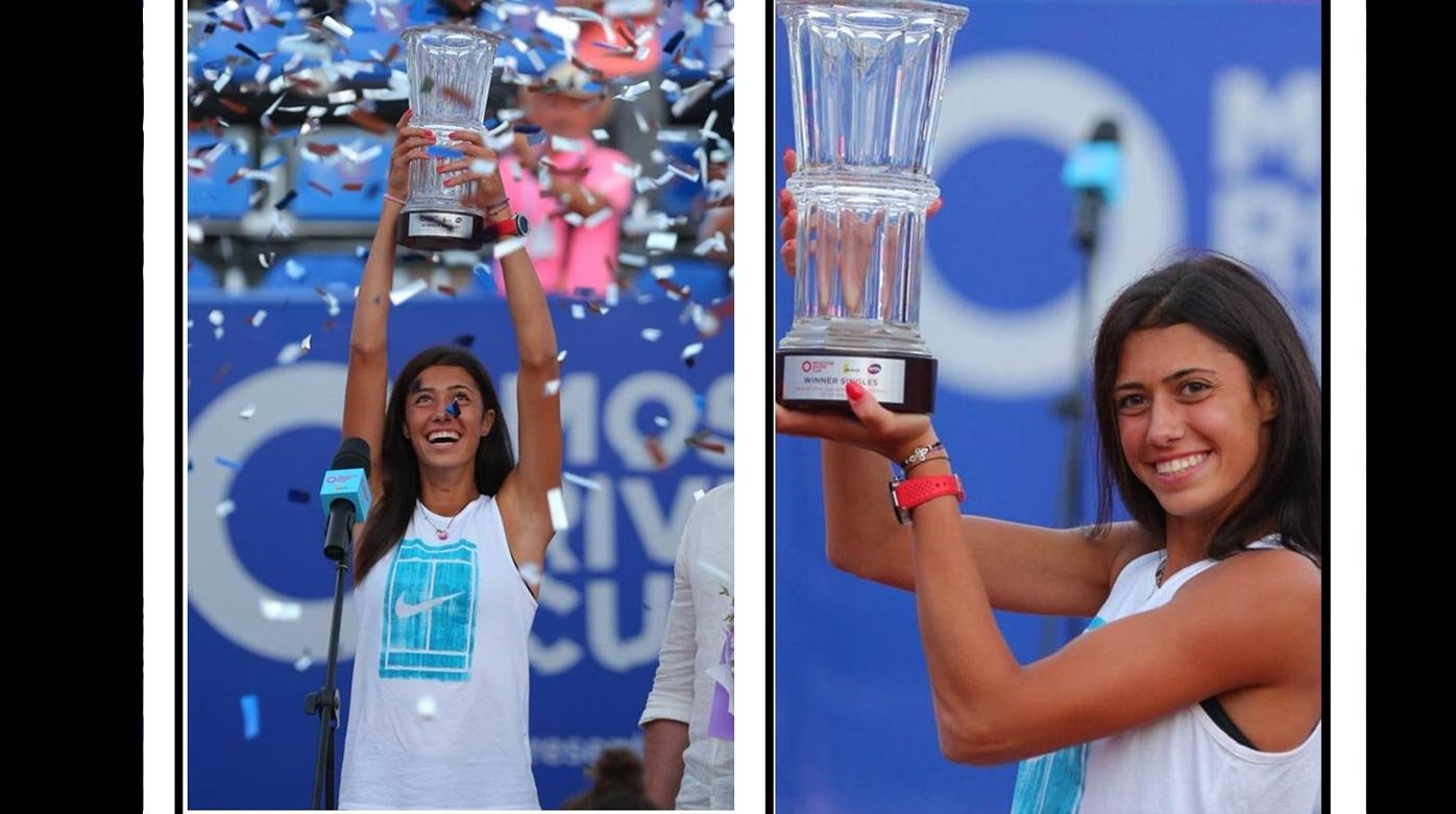 TAG Heuer - Danilovic wins maiden WTA title in Moscow
