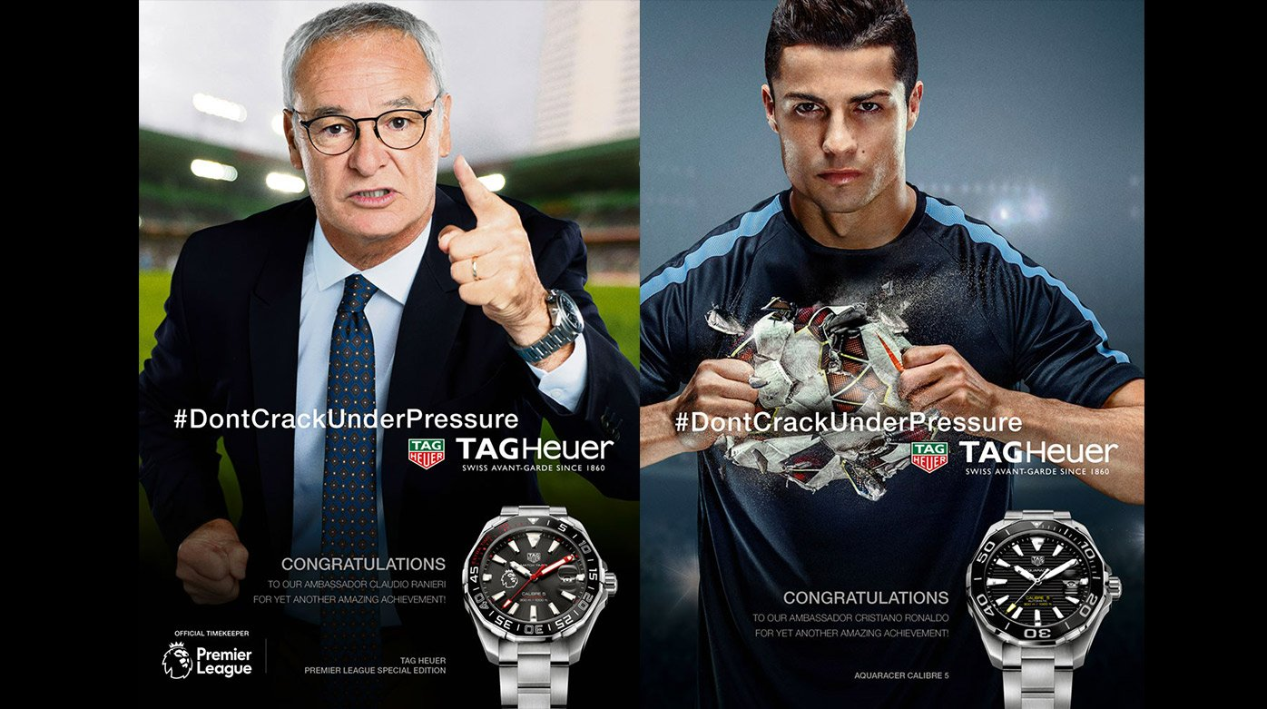 TAG Heuer - Football: The family of TAG Heuer ambassadors in the spotlight
