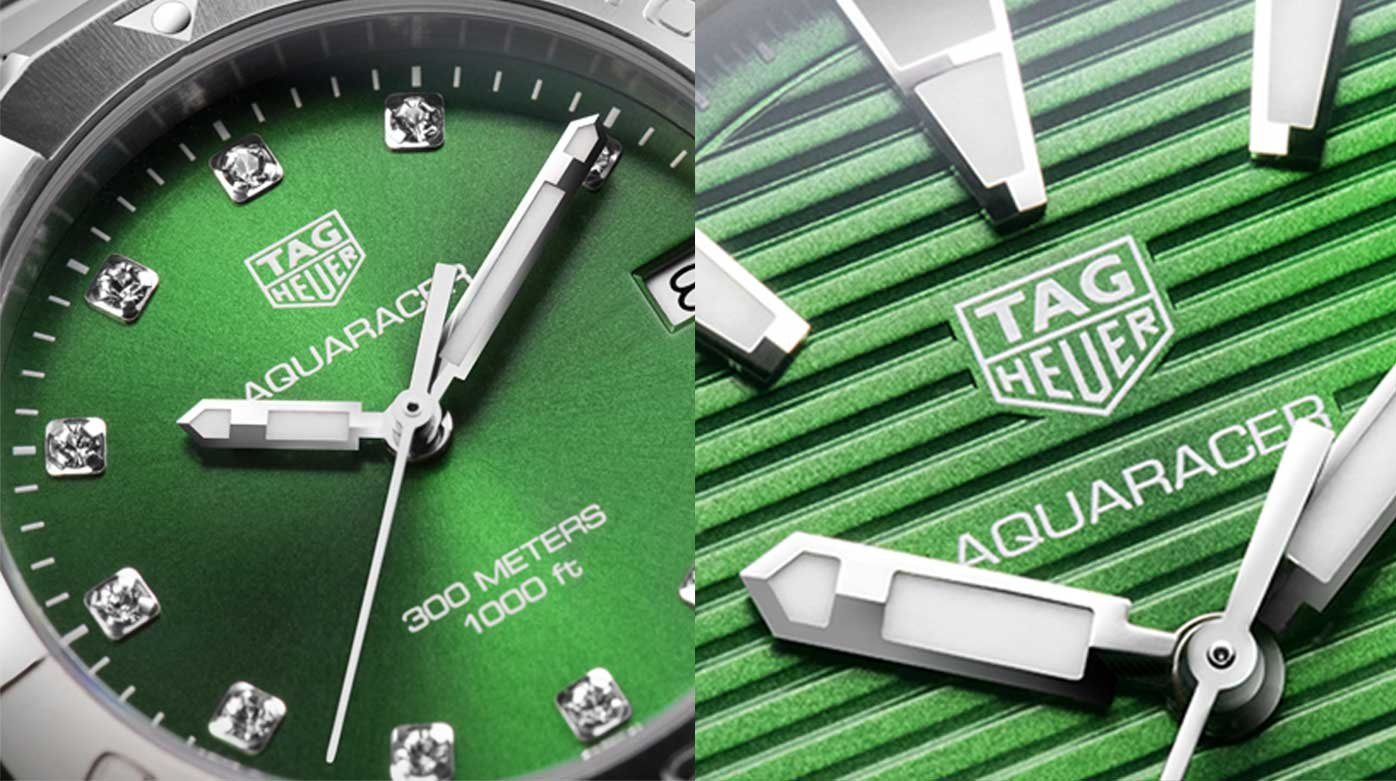 TAG Heuer - Two new Aquaracer models