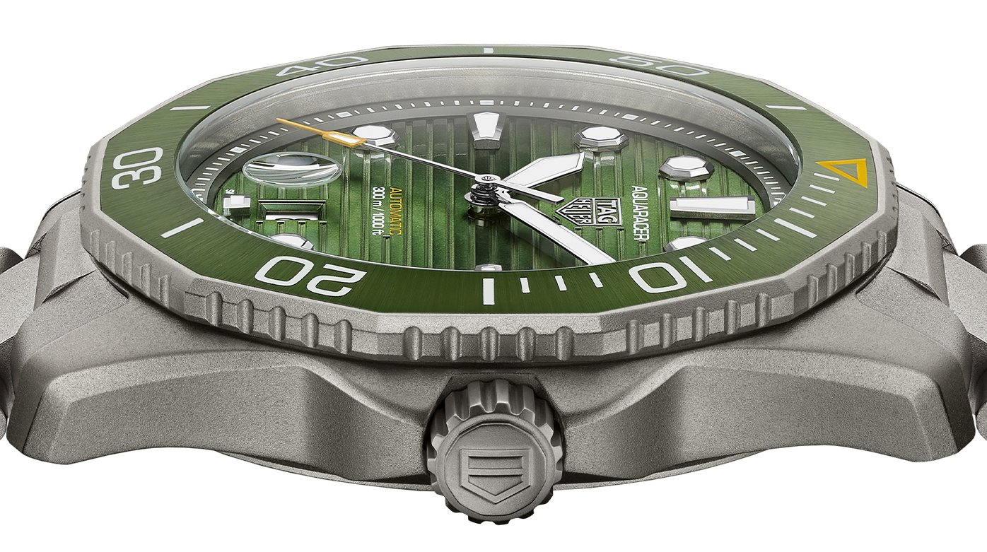 TAG Heuer - Getting Up Close with the New Aquaracer Collection