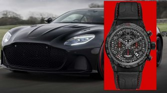 Aston Martin DBS Superleggera TAG Heuer Edition Trends and style