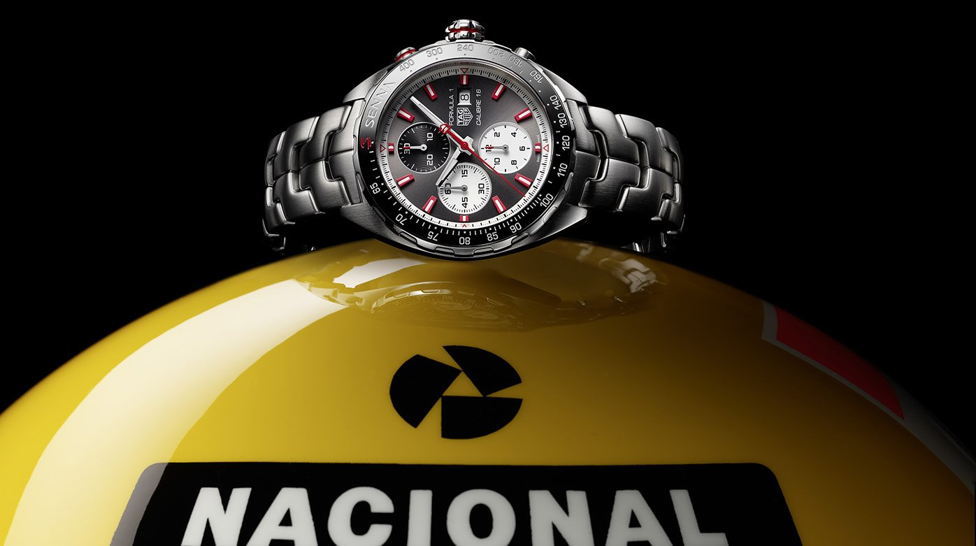 TAG Heuer - Two New Timepieces in Honour of Formula 1 Legend Ayrton Senna