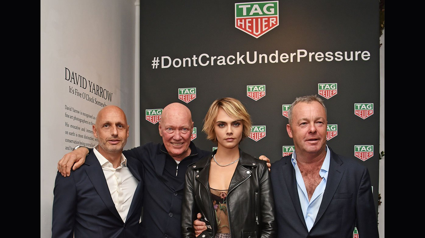"TAG Heuer - ""Don't Crack Under Pressure"" auction"