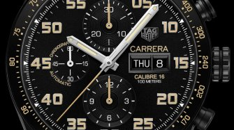 Carrera Calibre 16 Day-Date Chronograph Black Titanium  Style & Tendance