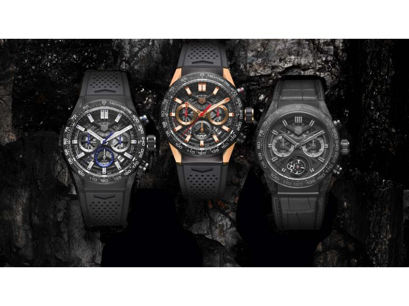 1b54ac74c5a TAG Heuer - The Carrera collection goes carbon - Trends and style -  WorldTempus