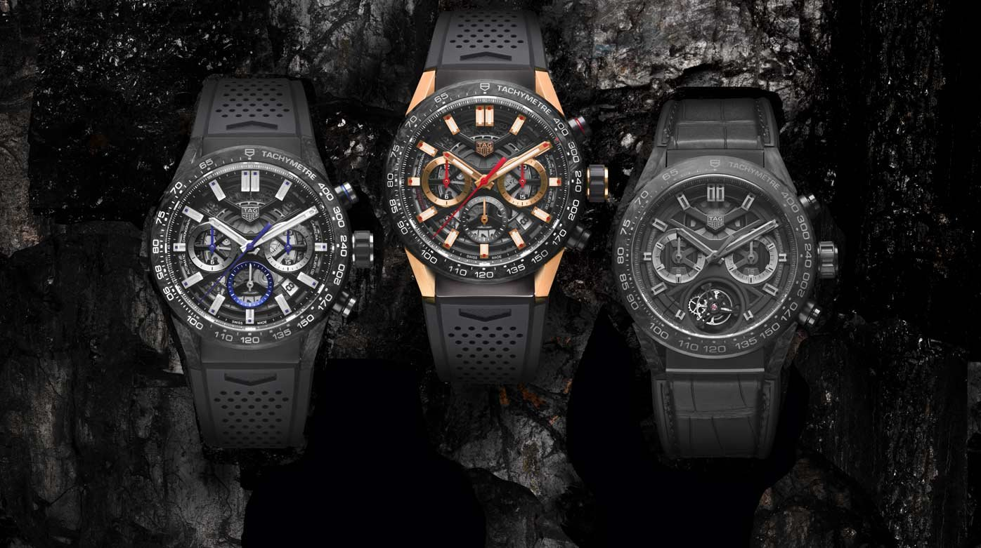 TAG Heuer - The Carrera collection goes carbon