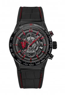 Carrera Chronographe Manufacture Carrera Heuer-01 Manchester United Edition Spéciale