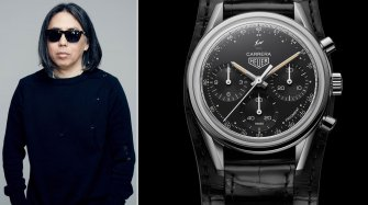 TAG Heuer Carrera Heuer 02 by Fragment Hiroshi Fujiwara Trends and style