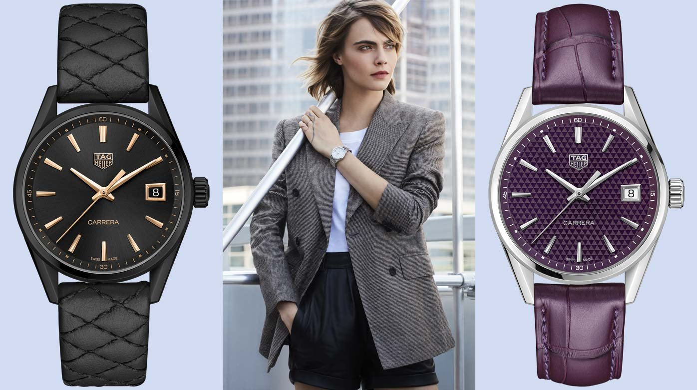 TAG Heuer - Revamped Carrera Lady models