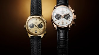 Gold Tag Heuer Carrera to Celebrace Jack Heuer  Trends and style