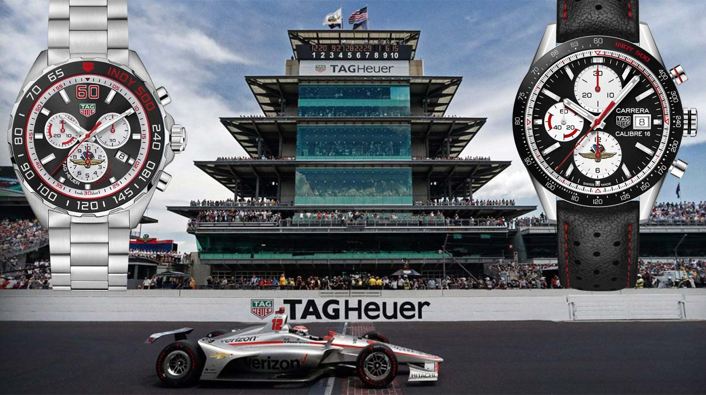 TAG Heuer - Two Indy 500 special editions