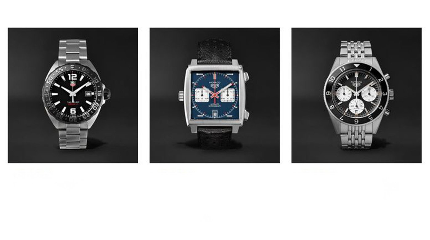 TAG Heuer - TAG Heuer now available on Mr Porter