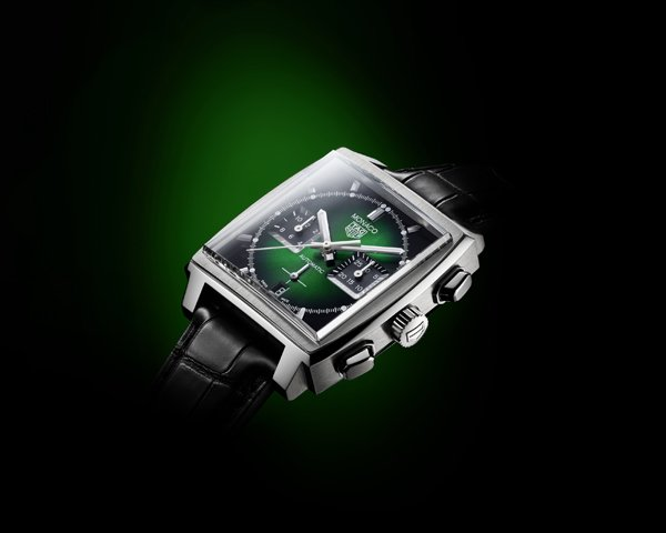 The TAG Heuer Monaco Green Dial