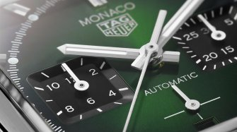 The TAG Heuer Monaco Green Dial Trends and style