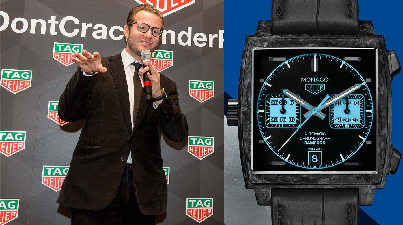 TAG Heuer - Interview with George Bamford