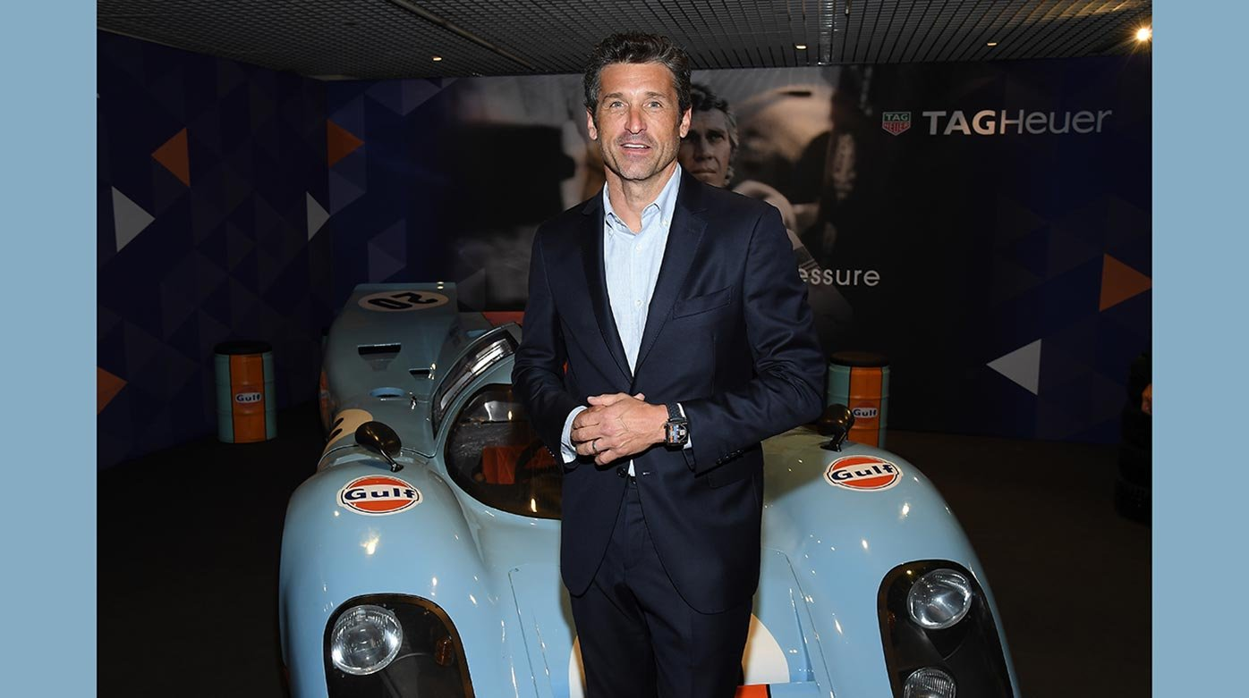 TAG Heuer - Following the tyre tracks of Prince Albert I of Monaco with Patrick Dempsey