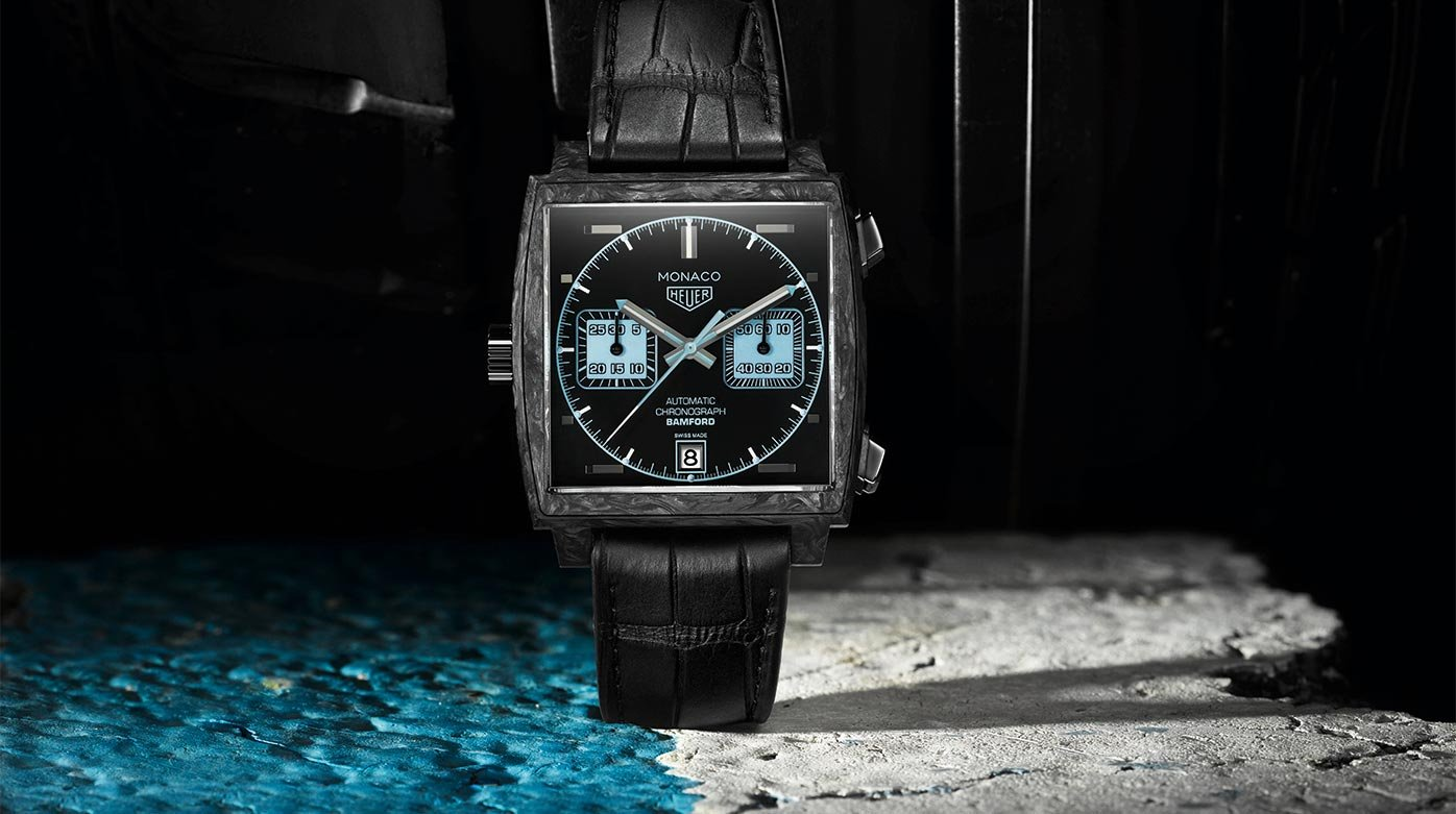 "Why not...? - ""Sturnysation"" and the TAG Heuer Monaco Bamford"