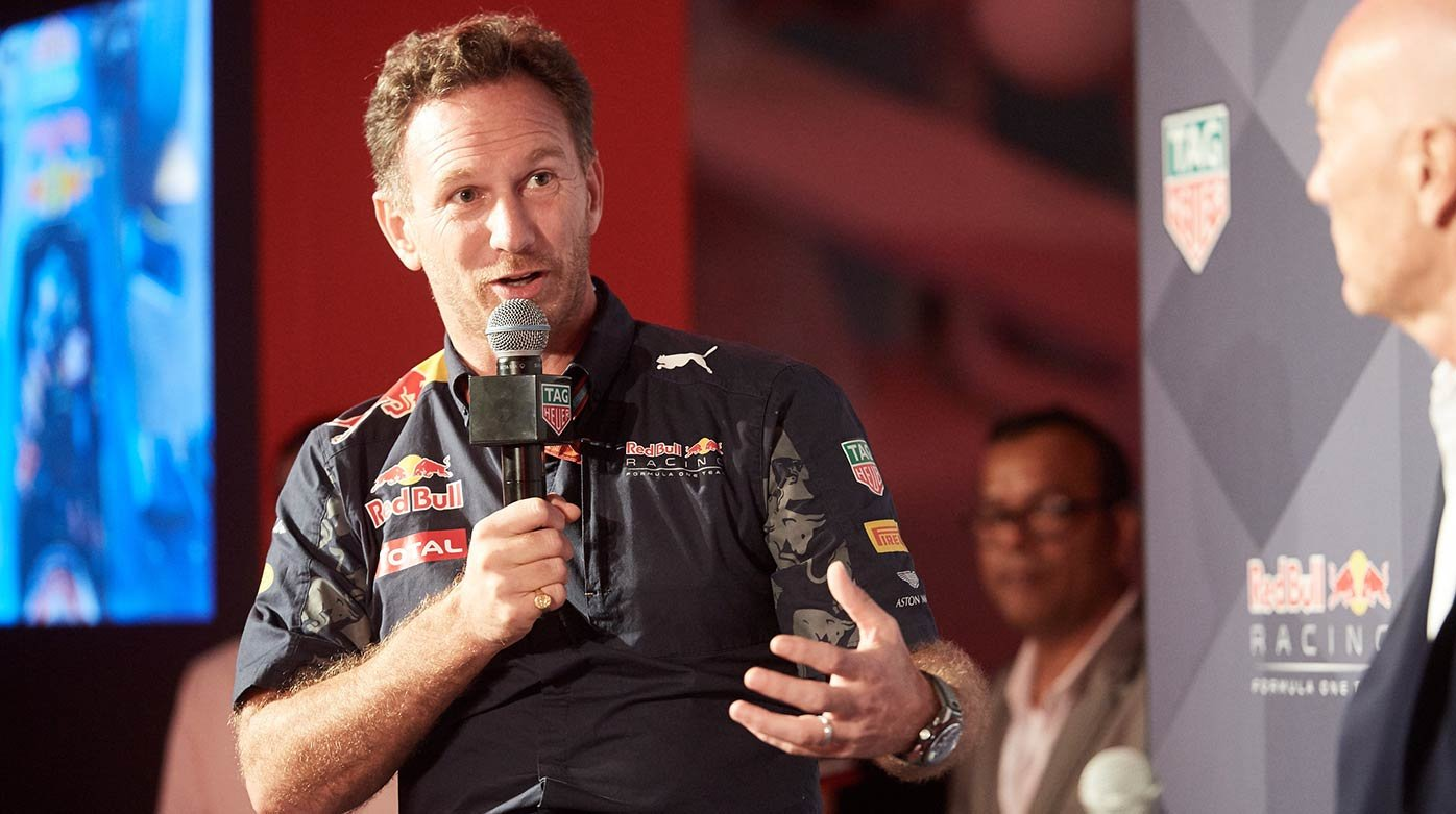 TAG Heuer - Entrevista a Christian Horner