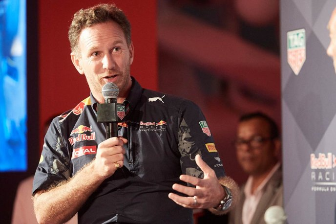 Interview with Christian Horner People and interviews