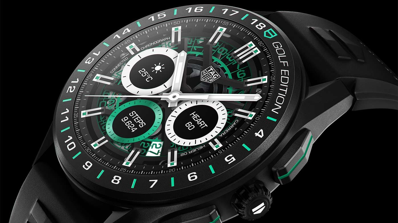 TAG Heuer - Connected Watch Golf Edition
