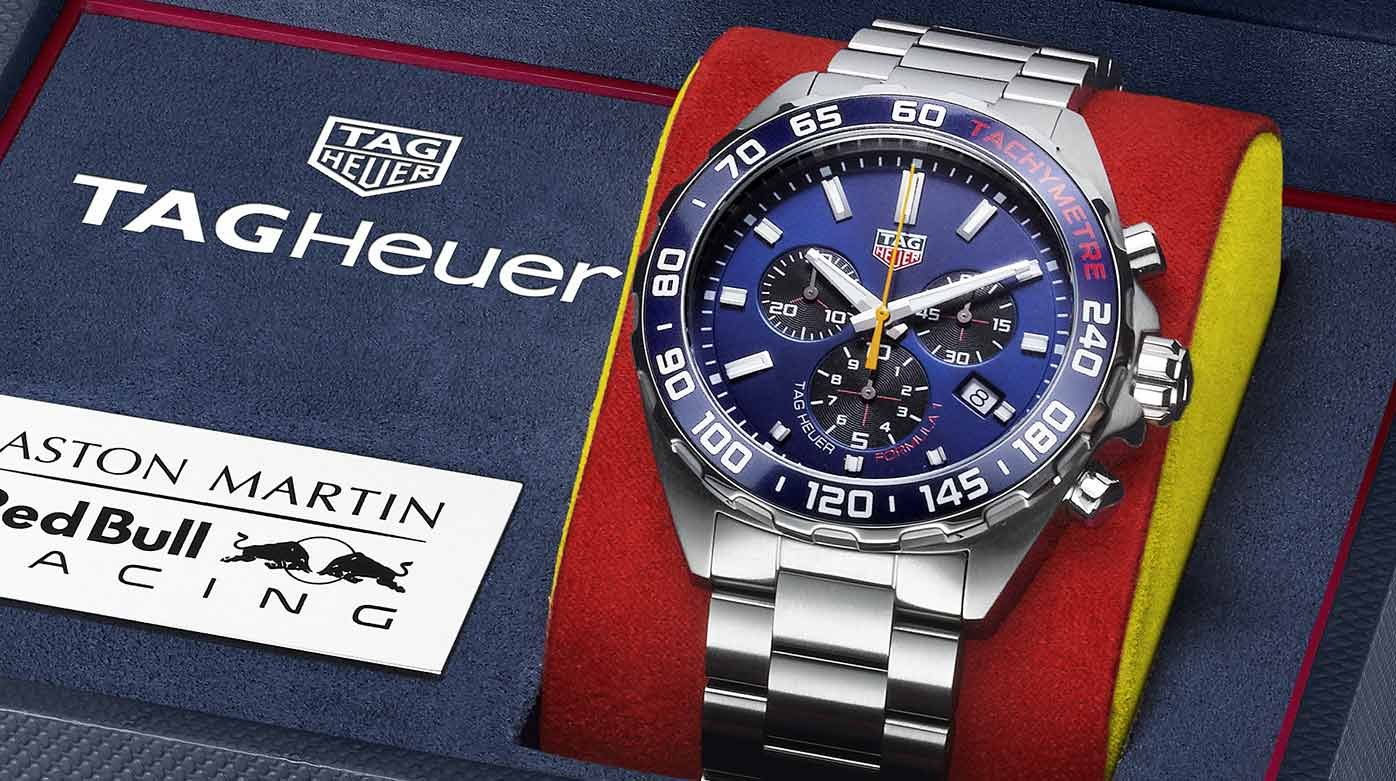TAG Heuer - Formula 1 Édition Spéciale Aston Martin Red Bull Racing