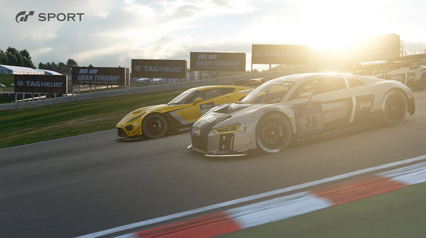 TAG Heuer - New Gran Turismo Sport game's launch