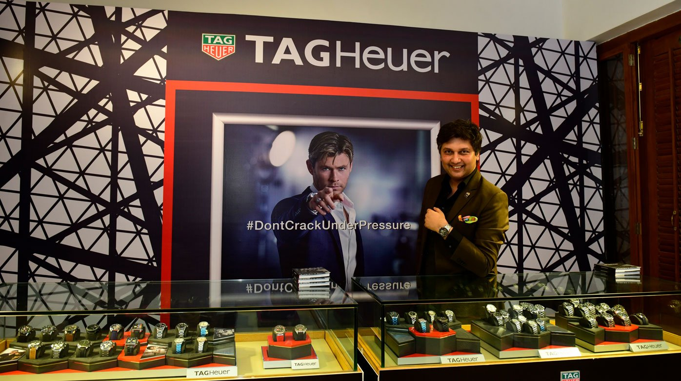 TAG Heuer - Alec Monopoly watch launched in Ahmedabad, India