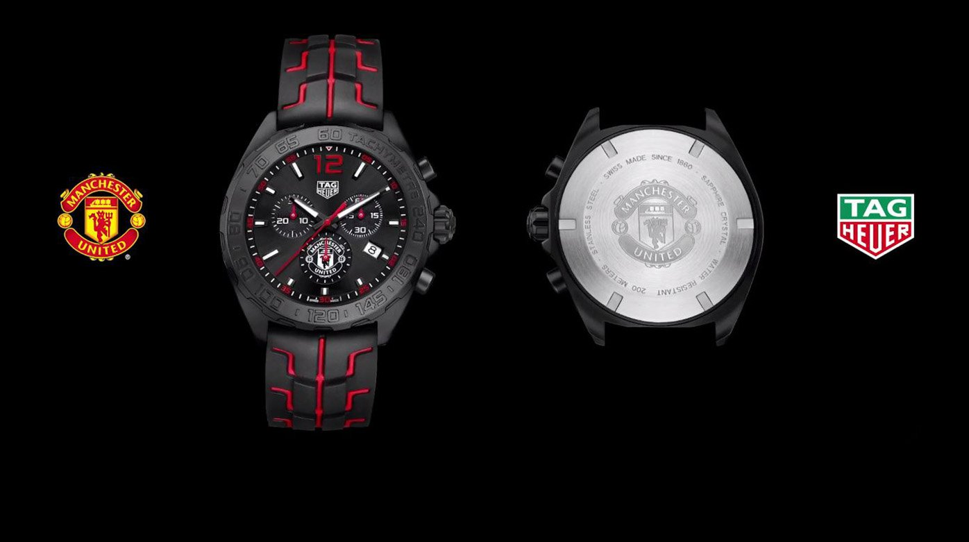 TAG Heuer - The partnership with Manchester United