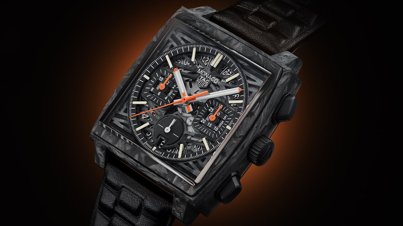 """TAG Heuer - Reimagination of the """"Dark Lord"""" for Only Watch 2021"""