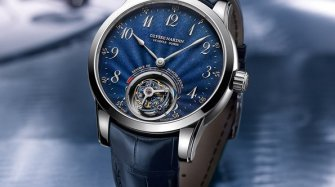 Ulysse Anchor Tourbillon, blue Trends and style