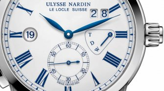 Classic Dual Time Enamel Style & Tendance