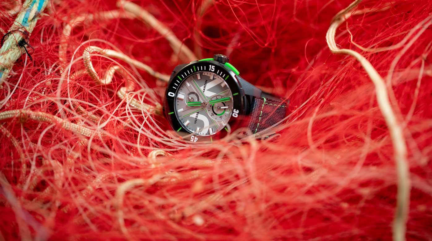 Ulysse Nardin - Diver Net: From the sea to the wrist
