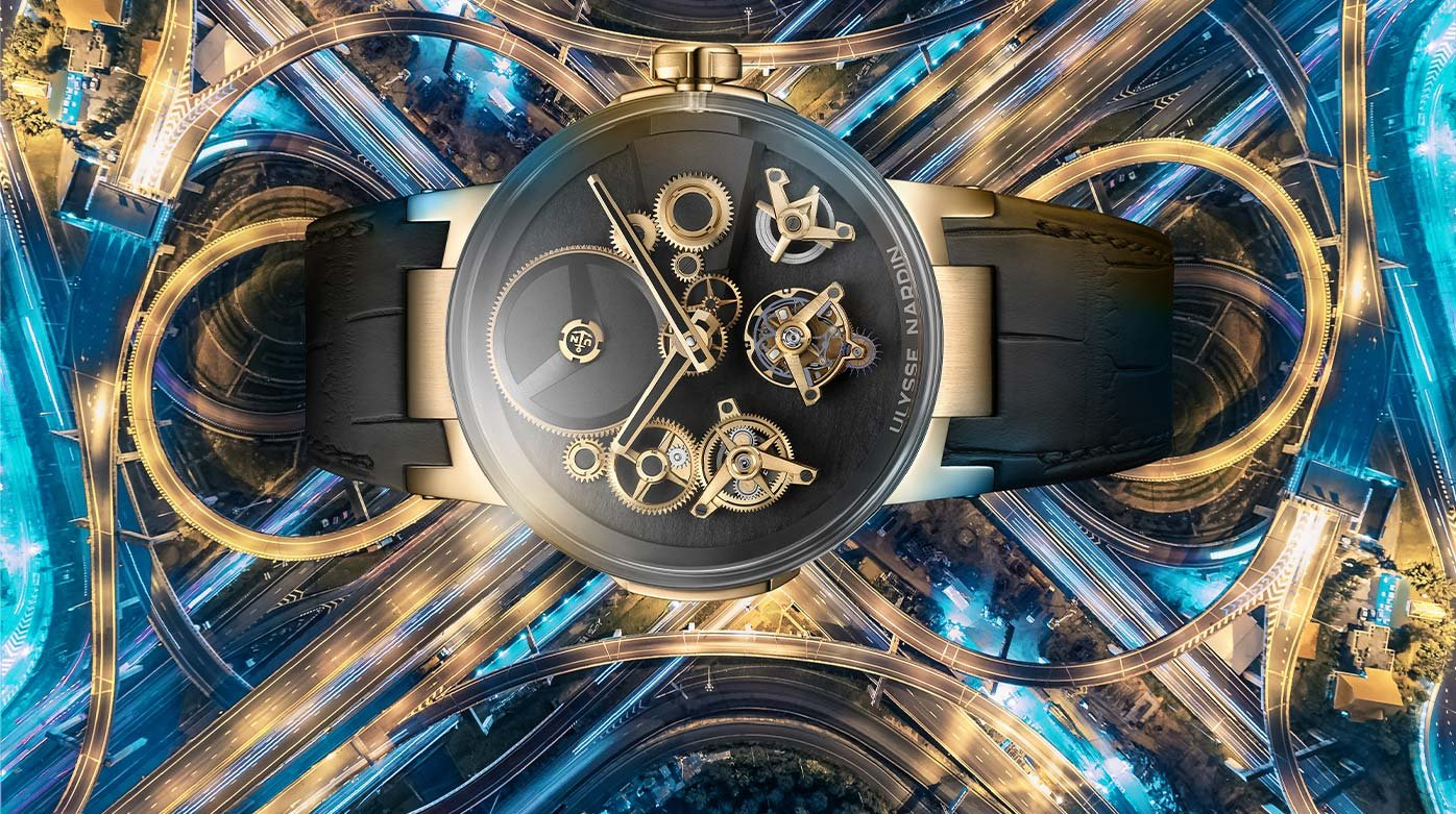 Ulysse Nardin - Invention of the free-wheeling watch