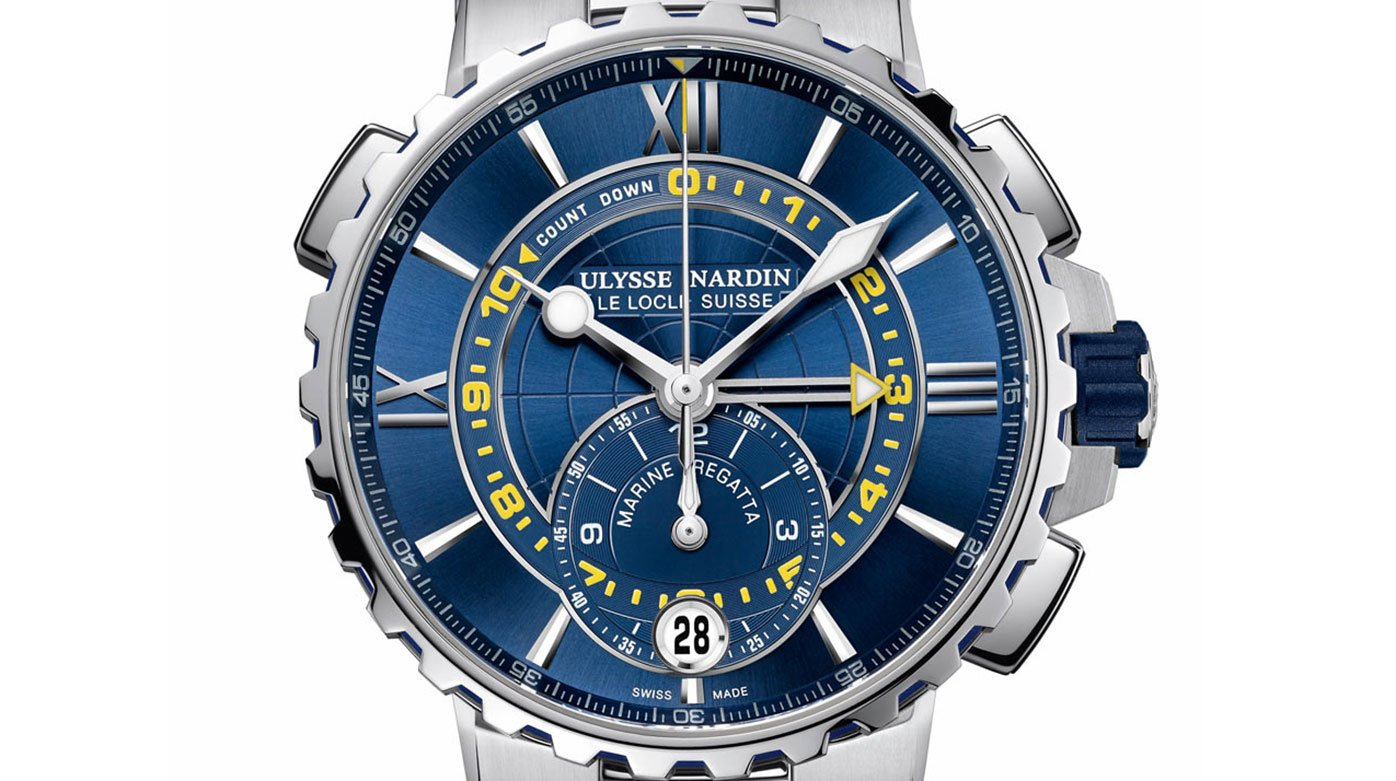 Ulysse Nardin - The Marine Regatta, prizewinner at the GPHG