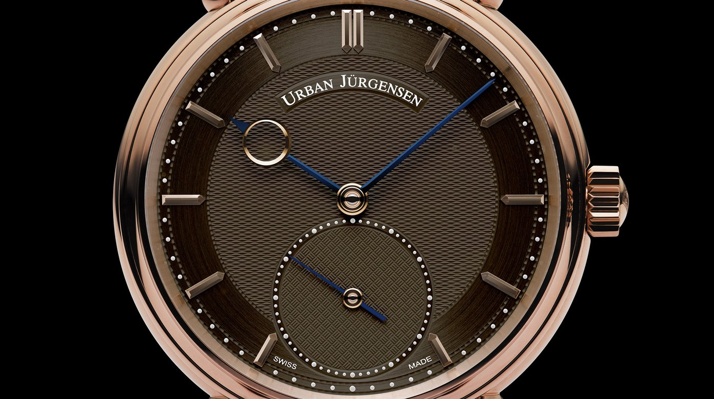 Urban Jürgensen - Reference 1140L RG Brown Dial