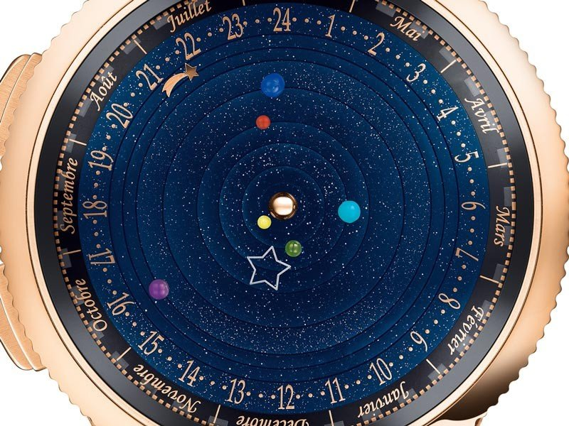 Van Cleef & Arpels - SIHH 2014 : Shooting stars to adorn the wrist
