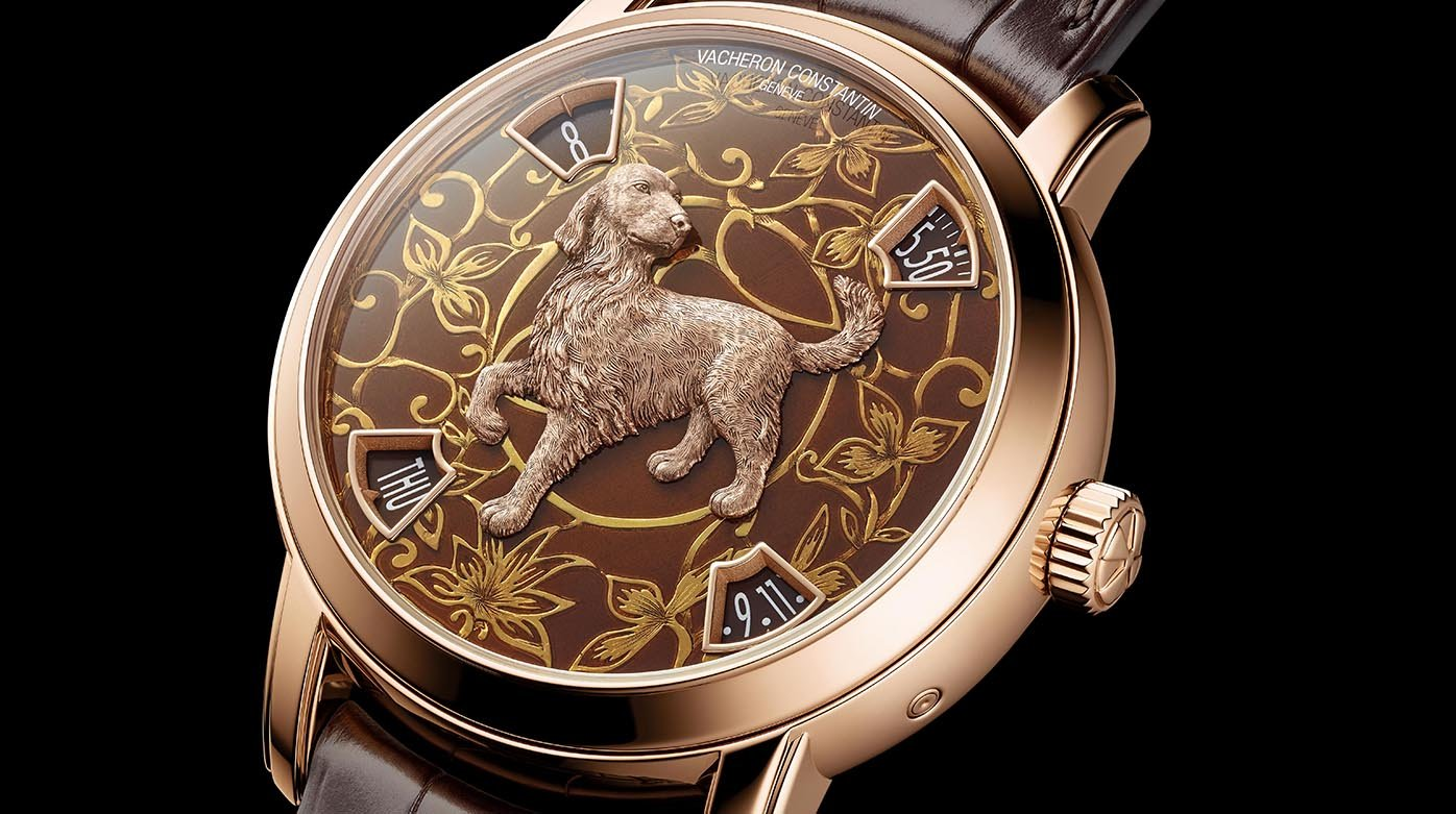 Vacheron Constantin - Métiers d'Art The legend of the Chinese zodiac Year of the dog
