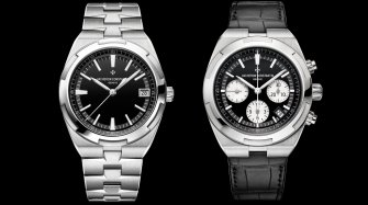 Overseas, black dial Trends and style