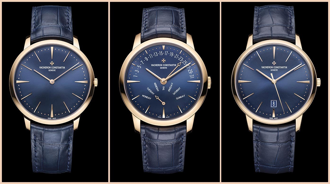 Vacheron Constantin - A majestic blue for the Patrimony