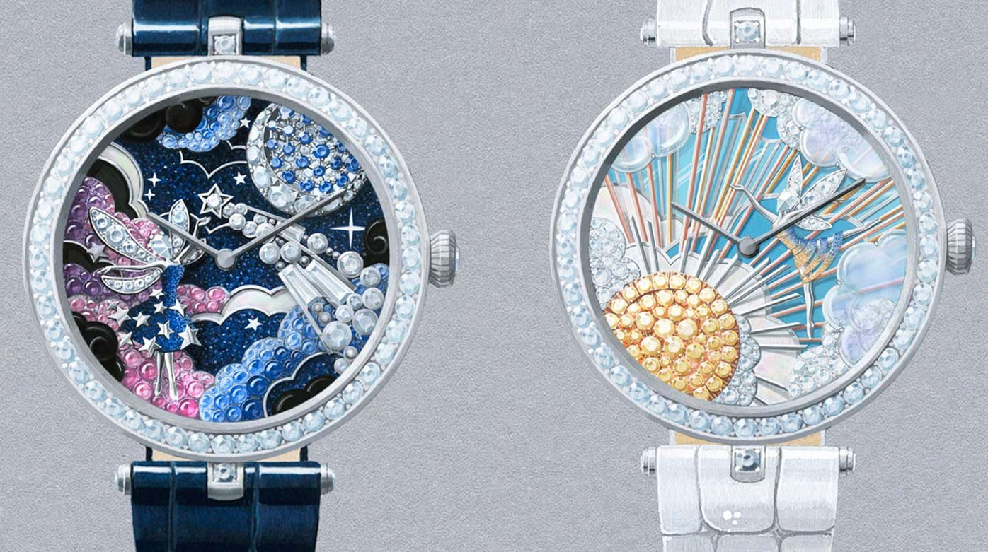 Van Cleef & Arpels - Lady Arpels : a sky illuminated by the sun or the stars