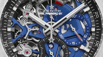 Defy El Primero 21 Blue Trends and style