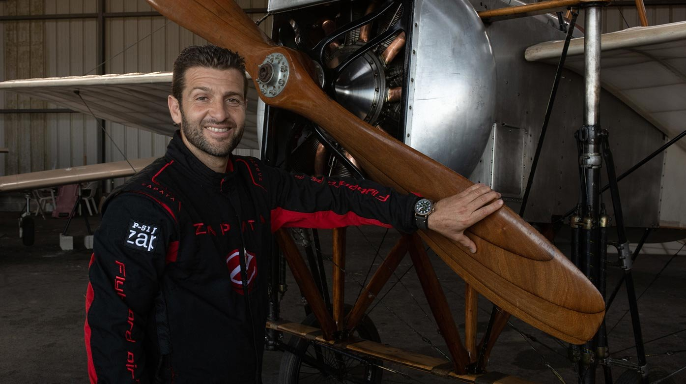 Zenith - Franky Zapata: flying pioneer and new friend of the brand