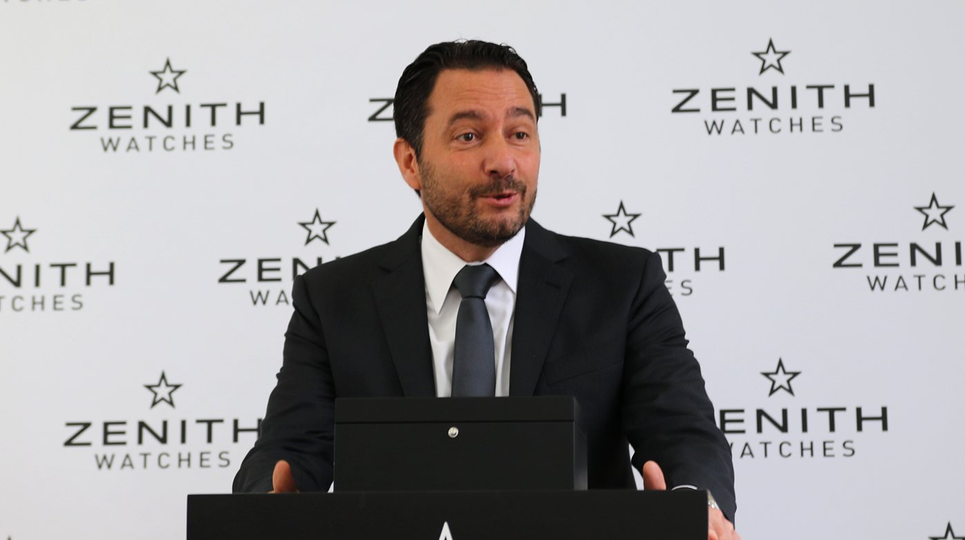 Zenith - Interview with Julien Tornare, CEO of Zenith Watches