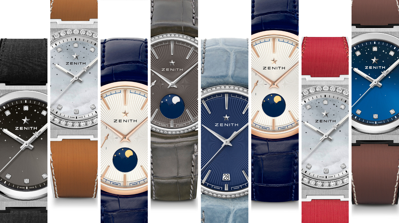 Zenith - Women's Watches out in Force at the LVMH Watch Week