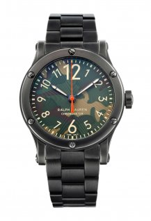 Ralph Lauren Safari - Camouflage Dial - Aged Steel - 45mm