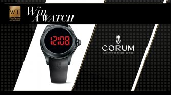 Corum Bubble 47 Digital watch Arts and culture